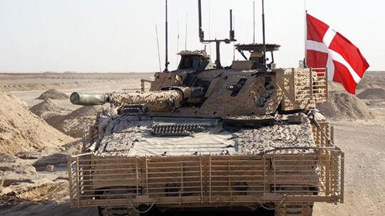 """For under to år siden blev 10 infanterikampkøretøjer sendt til Afghanistan. Køretøjerne er hærens nyeste maskine, og så sent som i september blev de rost som """"meget stabile"""" på forsvarets hjemmeside."""