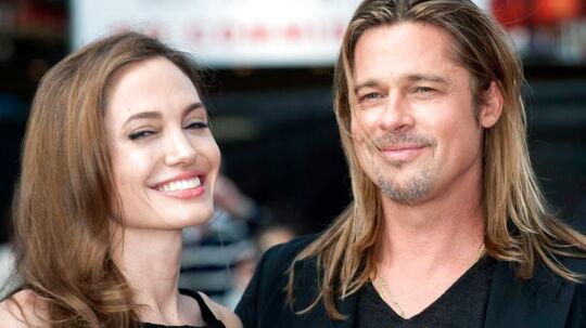 Angelina Jolie og Brad Pitt blev gift ved en lille ceremoni for deres 20 nærmeste 23. august.