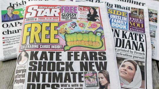 Avisen Irish Daily Star risikerer nu lukning, hvis det står til Richard Desmond, der ejer halvdelen af avisen.