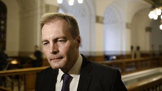 Her ses Peter Skaarup fra Dansk folkeparti