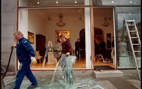 Anklageren i Københavns dommervagt måtte løslade den ene af to sigtede rambuk-tyv, fordi grundlovens 24-timers frist blev overskredet.  (Arkivfoto: Andres Szlavik)