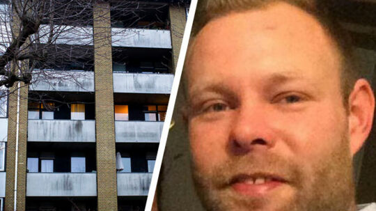 Den 28-årige Nikolaj Dyrner blev fundet død på sin vens altan på 2. sal tv. Arkivfoto.
