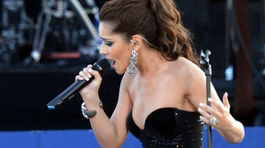 Cheryl Cole optrådte for nylig ved dronning Elizabeths 60 års jubilæum.