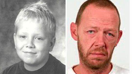 Politiet efterlyser nu den 11-årige Meiner Holm Rasmussen og hans 52-årige far, Rene Meiner Holm Berg.
