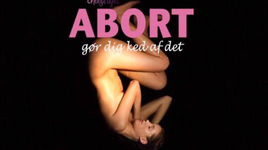 Det er højst usædvanligt, at en reklamefilm droppes, lyder det fra distributøren, som fortryder, at den kontroversielle reklamefilm 'Abort gør dig ked af det' nåede ud i biograferne.