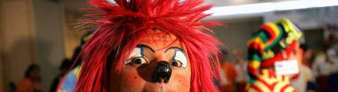 Den pædofilidømte klovn Motley optræder også som julemand. Klovnen på dette billede har intet med sagen at gøre. Arkivfoto: AFP