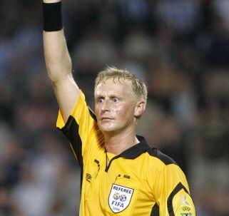 FCM-spillerne var efter nederlaget til Brøndby utilfreds med dommer Michael Svendsen.