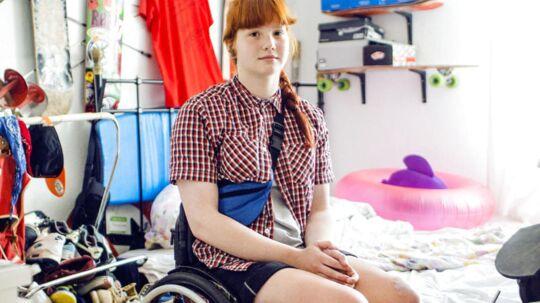 16-årige Frida - pigen der faldt ned fra Dronning Louises Bro i København i januar 2012.