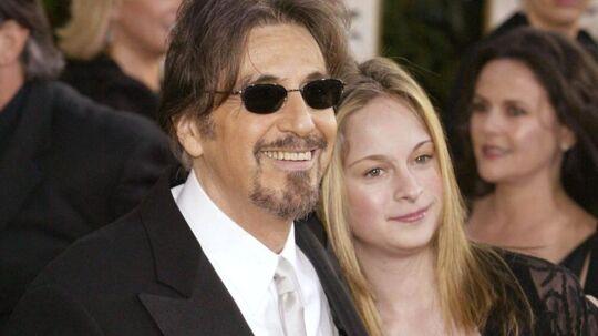 Al Pacino med sin datter Julie Pacino.