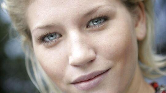 Her ses den svenske topmodel-deltager, Anna Maria Moström, som hun blev præsenteret i Top Model Sverige i 2005.