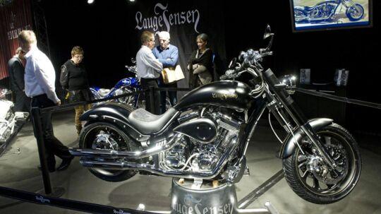 Den danske motorcykelproducent Lauge Jensen er kendt for dyrt specialdesign.
