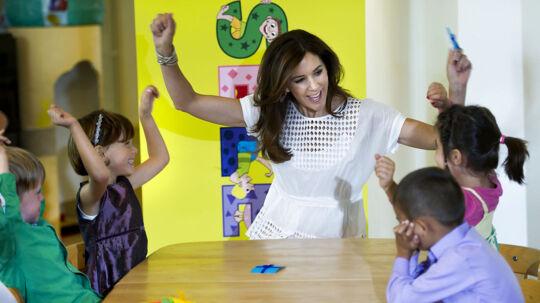 Kronprinsesse Mary var tirsdag den 28. august 2012 i børnehuset Svanen i Brøndby for at markere, at Mary Fondens nye projekt LæseLeg nu tilbydes til alle landets børnehaver. Samtidig gav børn og pædagoger en smagsprøve på, hvordan de arbejder med LæseLeg.
