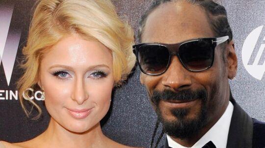 Paris Hilton og Snoop Dogg skal lave musik sammen.
