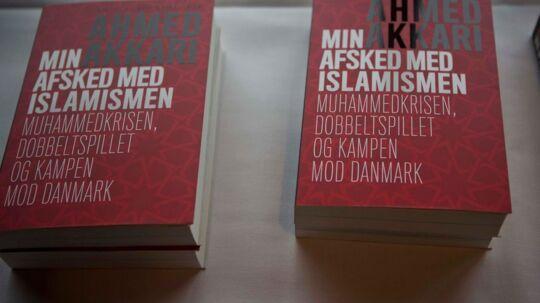 """Ahmed Akkaris bog """"Min afsked med islamismen"""" (arkivfoto)."""