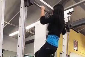 Marisa Indas træningsvideo, hvor hun træner med stort overskud, er blevet set mere end tre millioner gange.