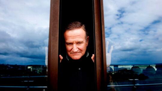 Her ses den Oscar-vindende skuespiller Robin Williams (arkivfoto).
