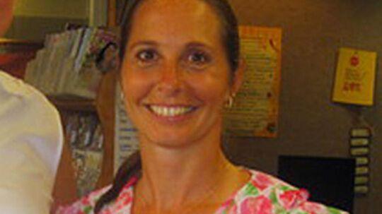 Dawn Hochsprung var rektor på Sandy Hook grundskolen i Newtown, Connecticut USA. To år gammelt foto fra skolens bibliotek.
