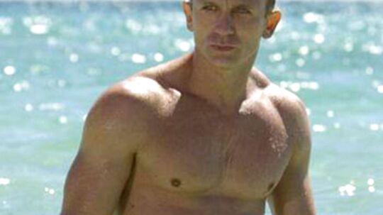 Daniel Craig er yderst veltrænet mand af en på 44 år.