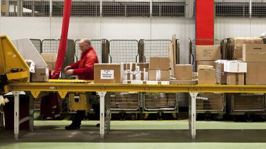 Post Danmarks distributionscenter i København
