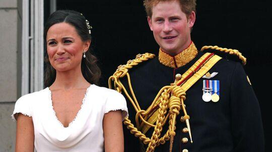 Nyt par? Prins Harry afviser nu alle rygter om, at han og Kate's søster Pippa har et forhold.