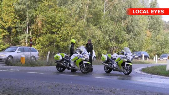 Sidste uges politiafspærring på Holbækmotorvejen. I dag var motorvejen igen spærret pga. en politiefterforskning.