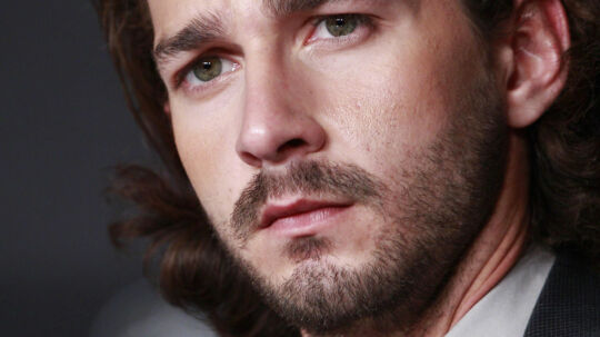 Shia LaBeouf, kendt fra 'Transformers'.