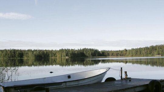 Det er en udsigt som denne ved Växsjö, der tidligere har lokket mange danskere til Småland.