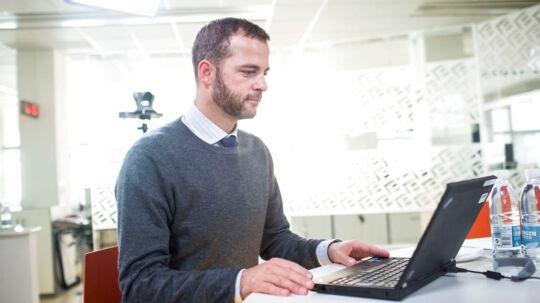 Den nye radikale leder, Morten Østergaard, hos BT til chat med bt.dks brugere.