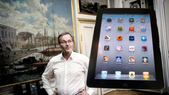 Erhvervs- og vækstminister Ole Sohn har lejet 50 iPads. Pris: 289.00 kroner.