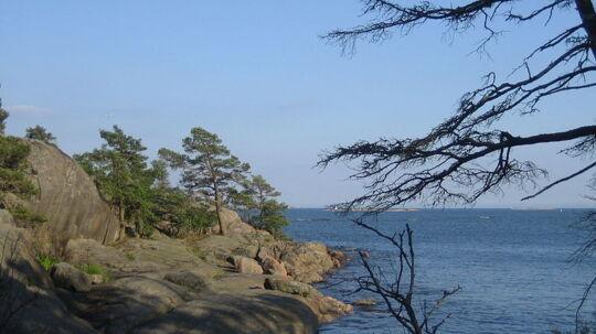 På denne lille idylliske ø i den finske skærgård overlevede en ung mand i næsten tre uger på bare chips og chokolade.