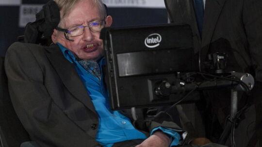 Jagten på intelligente rumvæsener skal ske med hjælp fra den verdenskendte professor Stephen Hawking.