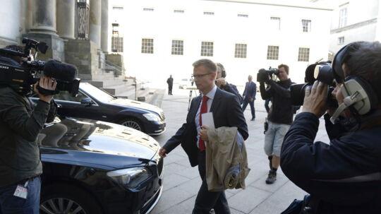 Her ses den kommende skatteminister Benny Engelbrecht (S)