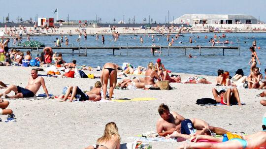 Sol sommer og strandvejr