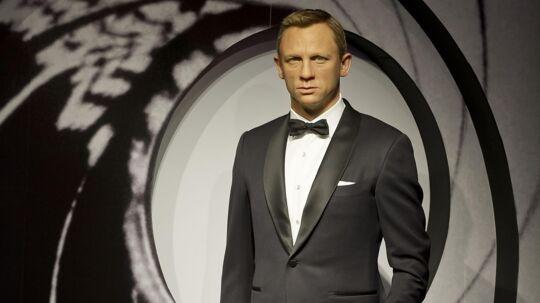 Daniel Craig aka. James Bond på Madame Tussauds.