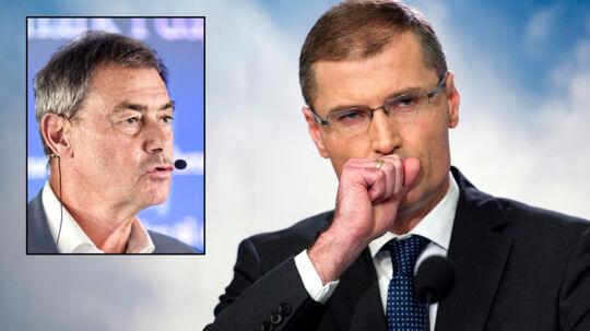 Asger Aamund (lille foto), mener kun, at Vestas' administrerende direktør Ditlev Engel skal have én chance mere for at beholde jobbet.