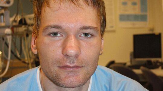 Sådan ser manden ud, der ikke kan huske sit navn. Både han selv og norsk politi beder nu hele Europa om hjælp til at identificere manden.
