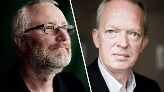 Peter Aalbæk Jensen, direktør for filmselskabet Zentropa og Henrik Bo Nielsen, direktrør for Det Danske Filminstitut