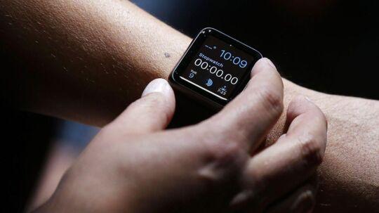 Det nye Apple Watch, som Apple har lanceret har til aften