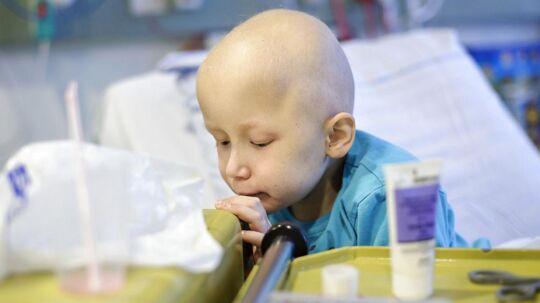 Syvårige Zander modtager behandling for leukæmi på Rigshospitalet. For at familien kan være tæt på, bor de i Ronald McDonald Hus, som ligger ved hospitalet, og hvor de også skal fejre jul.