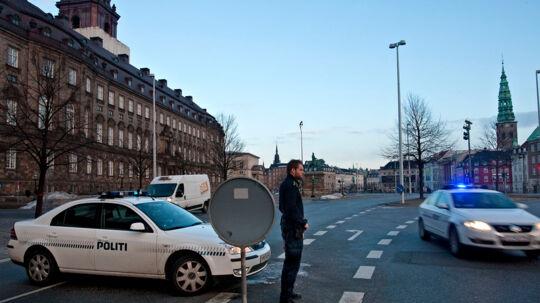 Denne her gang bliver der passet ekstra på ved Christiansborg Slot ( fra arkiv)