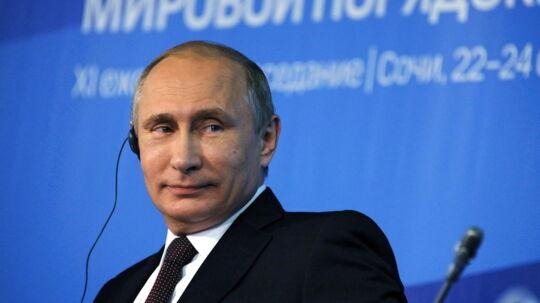 Det internationale finansmagasin Forbes har igen kåret den russiske præsident som verdens mægtigste.