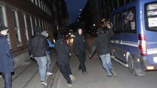 Der opstod torsdag aften uroligheder på Nørrebro i København under og efter et debatmøde med deltagelse af Morten Messerschmidt.