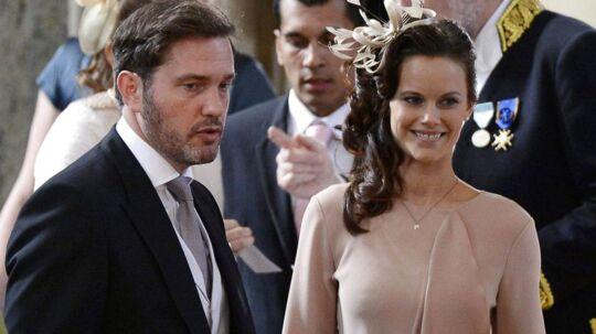 Chris O´Neill (tv), kæreste med prinsesse Madeleine og Sofia Hellqvist (th) kæreste med prins Carl Philip
