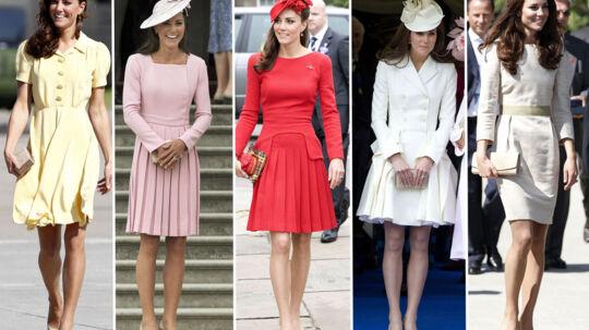 Det koster at klæde sig kongeligt, og man kan være nødt til at få svigerfar til at punge ud. Til gengæld ser Kate altid brandgodt ud.
