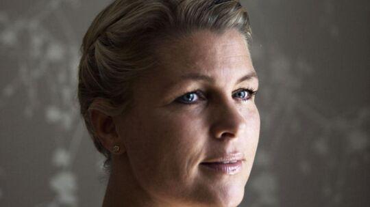 Mit hovedbudskab er, at man bliver lykkeligst af at være tro mod sig selv, siger Kristina Trolle.