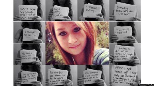 Amanda forsøgte via YouTube at forklare omverdenen, hvad mobningen gjorde ved hende. Bagefter begik hun selvmord.