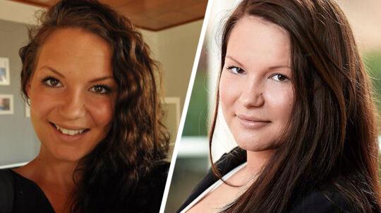 Der er 30 kilo til forskel på de to billeder af Sandra Jespersen, der er kendt fra De unge mødre.
