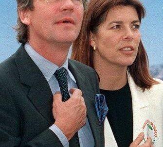 Prinsesse Caroline af Monaco og prins Ernst August af Hannover. Foto: EPA