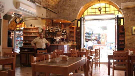 Jerusalems gamle bydel rummer mange kulturer og dermed mange køkkener.