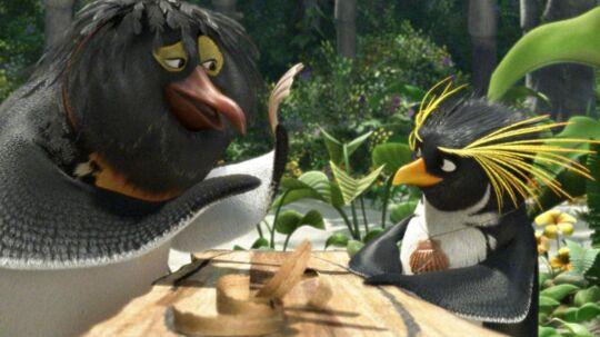 (ARKIVFOTO) Scene fra animationsfilmen 'Surf's Up!'